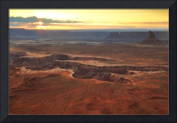 Sunset at Murphy Point, Canyonlands National Park