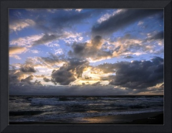 Dawn of a New Day Florida Seascape Sunrise 138