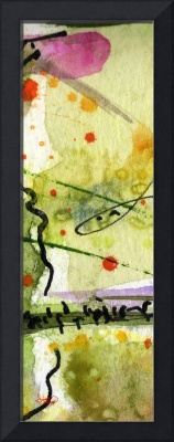 Modern Abstract Tallskinni #6 by Ginette