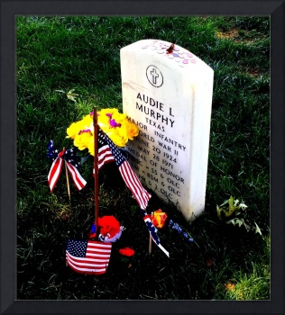 Audie Murphy at Arlington National Cemetery