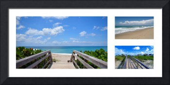 Seascape  Boardwalks Treasure Coast Collage 1