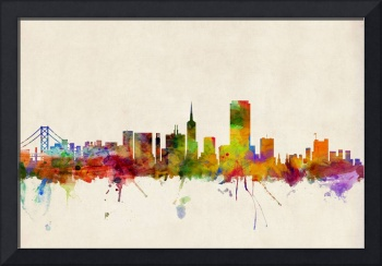 San Francisco City Skyline