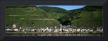 Small town along Mosel River