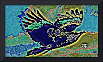 Abstract Bird Art 2