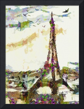 Paris France In Spring Modern Decorative