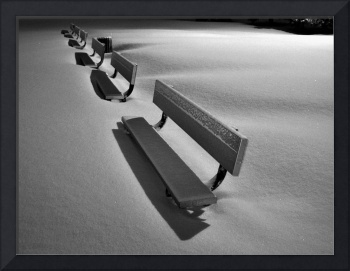 Winter Benches!