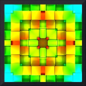 Colorful Geometric Abstract Pattern