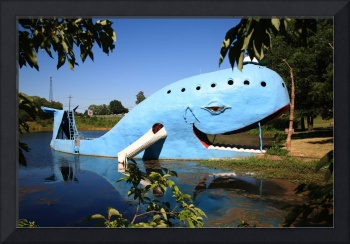 Route 66 - Blue Whale