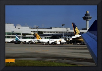 Singapore Airport and TigerAirways