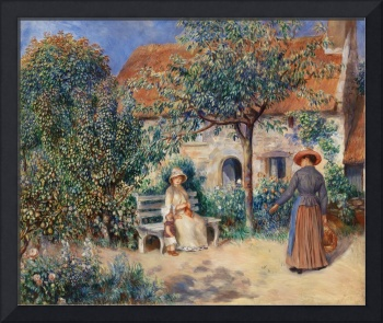In Brittany by Renoir