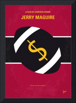 No838 My Jerry Maguire minimal movie poster