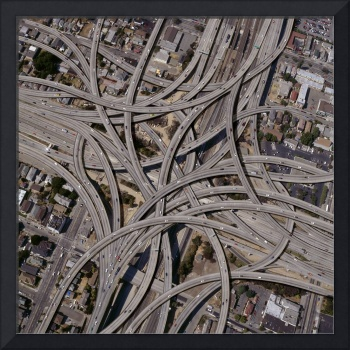 Complex-Freeway-Interchange-Network