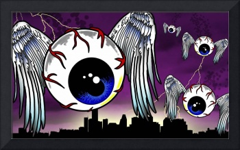 Eyeball City Attack!