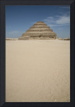 The Step Pyramid From The South Court