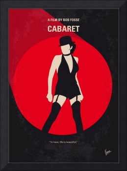 No742 My Cabaret minimal movie poster