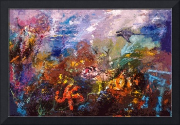 Coral Reef Ocean Life by Ginette
