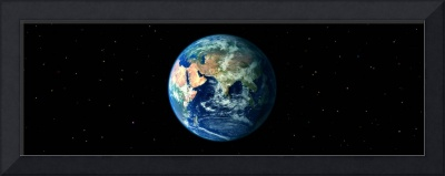 Earth in Space showing Asia and Africa (Photo Ill