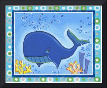 Whale (with border)