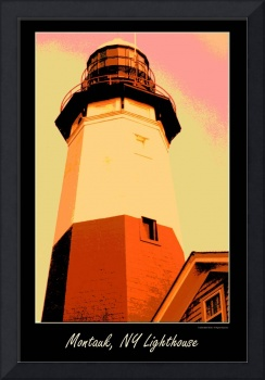 Montauk Lighthouse Artistic