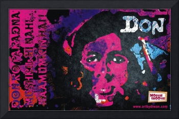 Bollywood Retro Poster : Tribute to Don