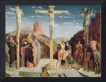 Calvary, after a painting by Andrea Mantegna