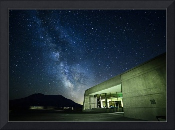 Milky Way at Johnston Ridge Observatory