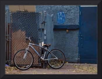 Bicycle in Blue at Dusk, Los Angeles
