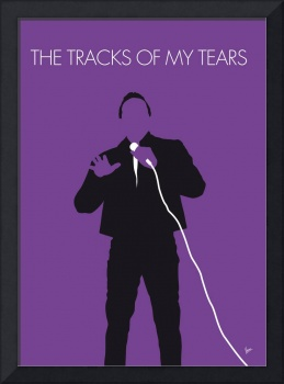 No161 MY Smokey Robinson Minimal Music poster
