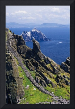 Stone Stairway, Skellig Michael, Skellig Islands,