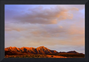 Franklin Mountains Morning