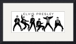 Elvic Presley Collage by David Caldevilla
