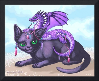 Dress Up Two Kitten and Dragon