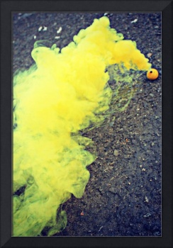 Smoke Bombs in Yellow