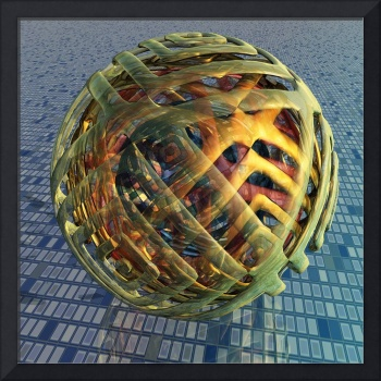 Virtual Glass Sphere XVI