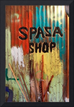 Spaza Shop Sign