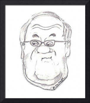 Rep Barney Frank Caricature