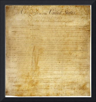 Original United States Constitution Bill of Rights
