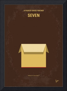 No233 My Seven minimal movie poster