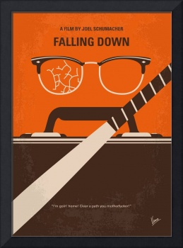 No768 My Falling Down minimal movie poster