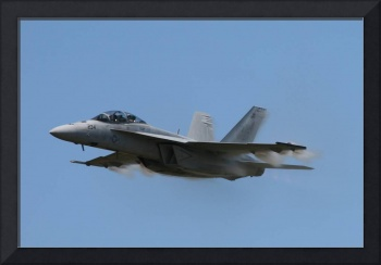 F/A-18 Feeling Need for Speed