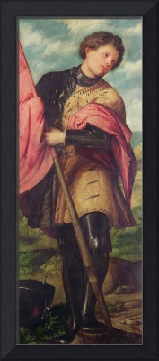 St. Alexander, a panel from the altarpiece 'The N