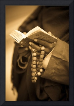 Man Holding Prayer Book, Ethiopia