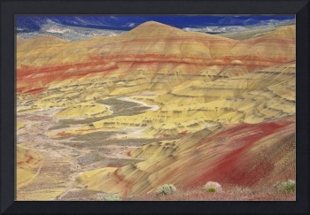 Painted Hills Panorama
