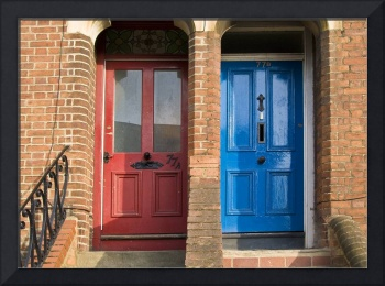Bright Doors 77A and 77B, Oxford, England