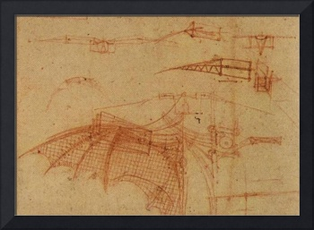 Design For A Flying Machine 1  1500 AD