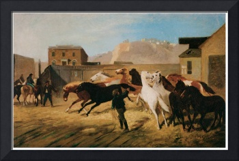 William Hahn's Arrival of Government Horses