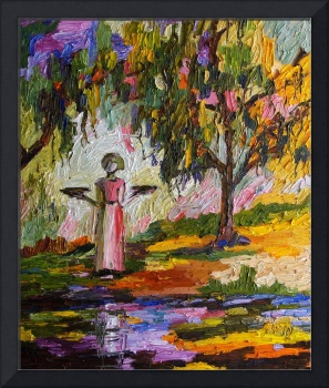 Summer In The Garden Of Good And Evil Oil Painting
