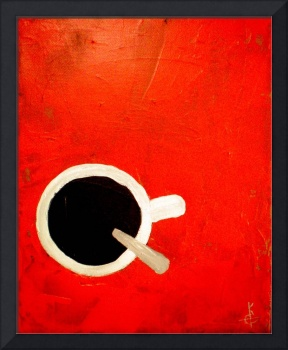 Coffee on Red