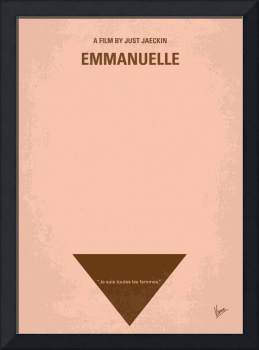 No160 My Emmanuelle minimal movie poster