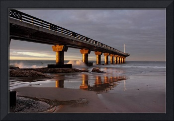 the pier - reflections